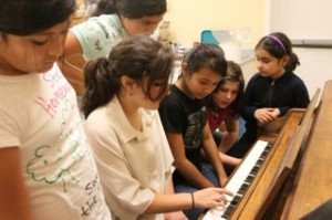 KMA- Somebody(I have the name) teaching piano-Josette AMRsh