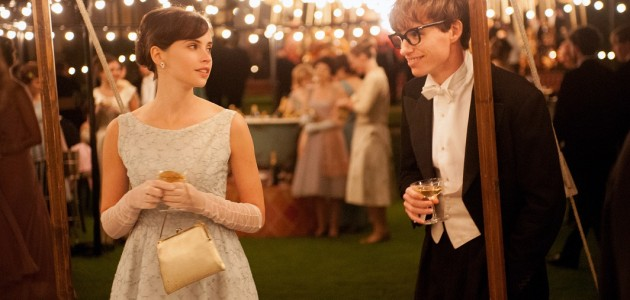 "Felicity Jones stars as Jane Wilde and Eddie Redmayne stars as her suitor Stephen Hawking in Academy Award-Winning director James Marsh's romantic drama ""The Theory of Everything,"" a Focus Features release."