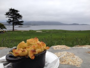 The Bench restaurant is perfect for enjoying Mac-n-Cheese.