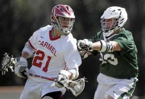 Koucky plays Carmel lacrosse
