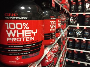 Whey protein is a popular supplement amongst high school students.