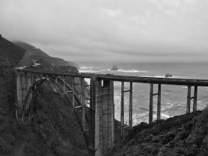 Bixby Bridge in Big Sur is an iconic scene of the Monterey Peninsula. Courtesy of Ellie Alto.