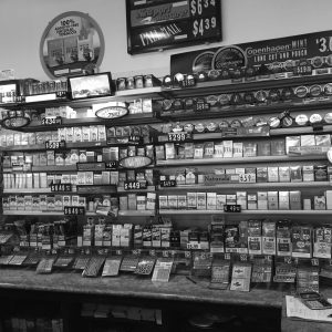 Convenience stores at gas stations feature a multitude of tobacco related products.