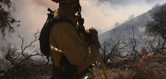 carmel-valley-firefighter-mike-vout-stands-looking-out-at-the-fire-from-the-dozer-line-of-division-i-in-cachagua-aug-3